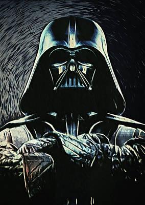 Darth Vader Poster by Taylan Apukovska