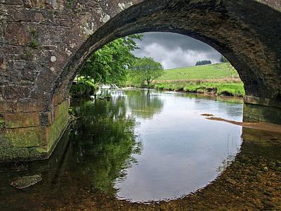 Dartmoor Through The Bridge Poster