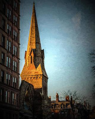 Dartmouth Street In Boston Poster