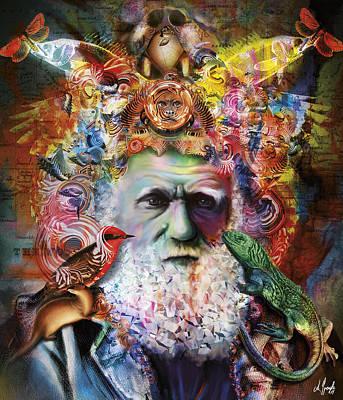 Darwin Poster by Andreas Spengler