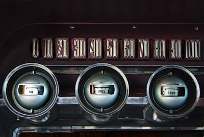 Dashboard Detail -1966 Ford Thunderbird Poster