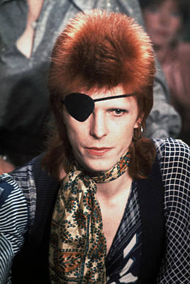 David Bowie 1974 Poster by Chris Walter