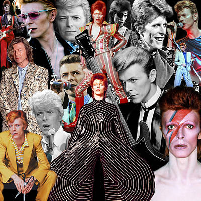 David Bowie 6 Poster
