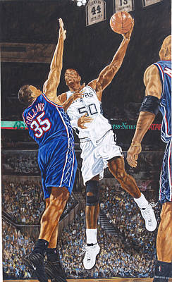 David Robinson Poster by Roger W Price