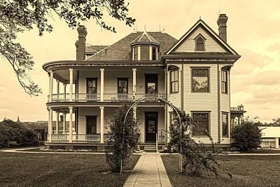 Davis House - Bend County Texas Poster