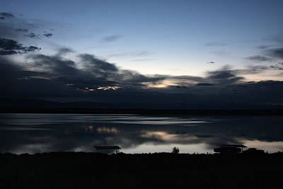 Dawn At John Lake Poster
