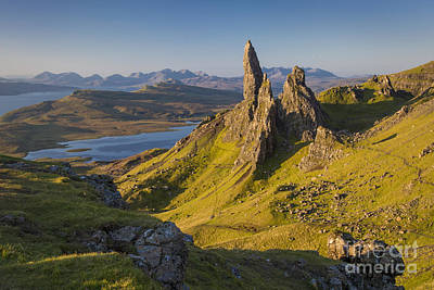 Dawn At Old Man Of Storr Poster by Brian Jannsen