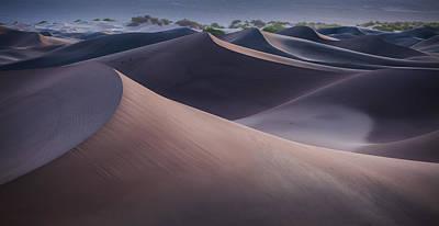 Dawn In The Dunes Poster by Thorsten Scheuermann