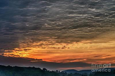 Dawn In West Virginia  Poster by Thomas R Fletcher