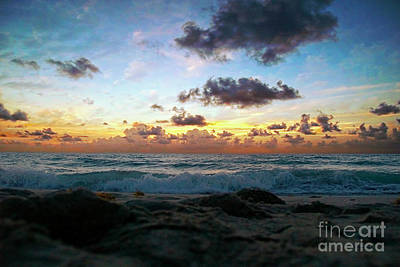 Dawn Of A New Day Seascape Sunrise 141a Poster