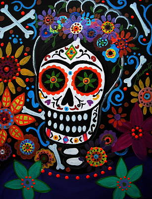 Day Of The Dead Frida Kahlo Painting Poster