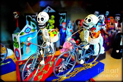 Day Of The Dead Poster by Jenny Revitz Soper