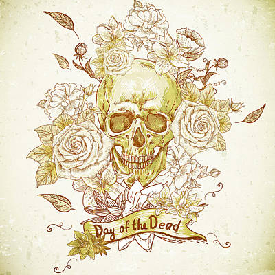 Day Of The Dead V1 Poster