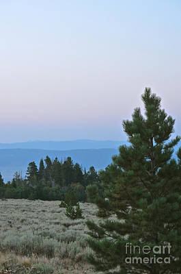 Daybreak On The Mountain Poster