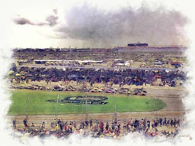 Daytona 500 Poster