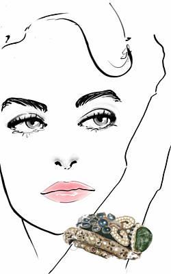 Dazzle Poster by Nadia La Moretti