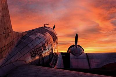 Dc-3 Dawn - 2017 Christopher Buff, Www.aviationbuff.com Poster