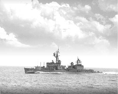 Dd 719 Uss Epperson Poster