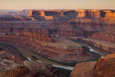 Dead Horse Point Morning Poster by Andrew Soundarajan