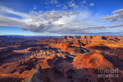 Dead Horse Point Sunrise Poster