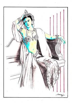 Deadly Diva, Mata Hari -- Portrait Poster
