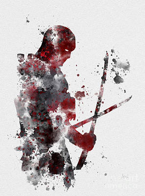 Deadpool Poster by Rebecca Jenkins