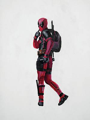 Deadpool Poster by Vagelis Karathanasis