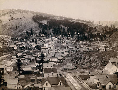 Deadwood South Dakota 1888 - No. 3 Poster by Daniel Hagerman