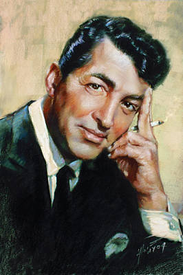 Dean Martin Poster by Ylli Haruni