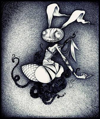 Dear Rabbit Poster by Spunky Freakster