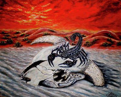 Death Dealer Scorpion Poster