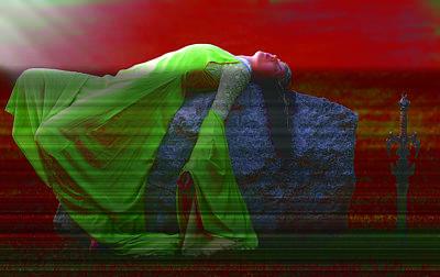 Death Of An Elf Poster by Dean Bertoncelj