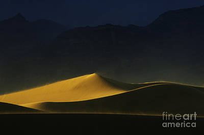 Death Valley California Symphony Of Light 1 Poster by Bob Christopher