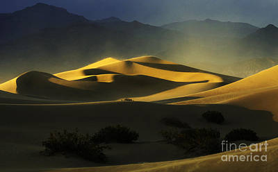 Death Valley California Symphony Of Light 4 Poster by Bob Christopher