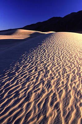 Death Valley Dune Poster
