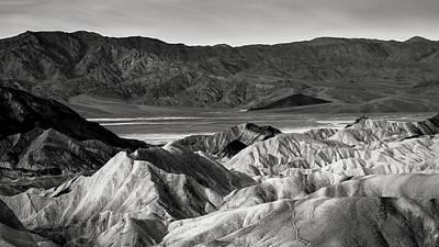 Death Valley Vista Poster by Joseph Smith