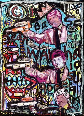 Death Wash Poster by Robert Wolverton Jr
