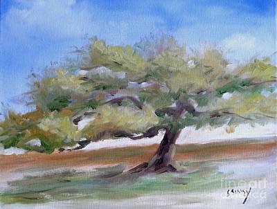 Deborah's Tree Poster by Sally Simon
