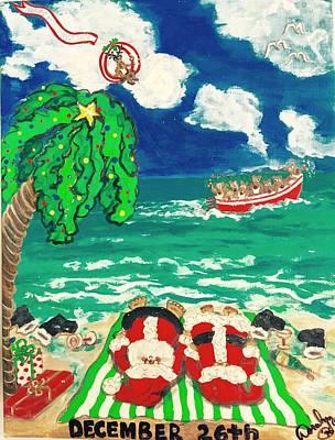 Dec. 26th 1996 Poster by Doralynn Lowe