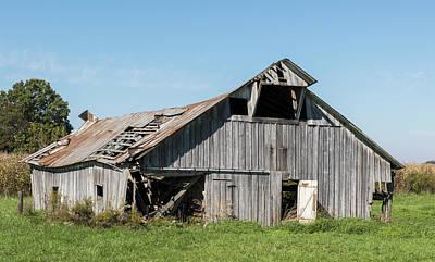 Decaying Barn Poster