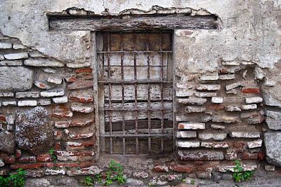 Decaying Wall And Window Antigua Guatemala 2 Poster