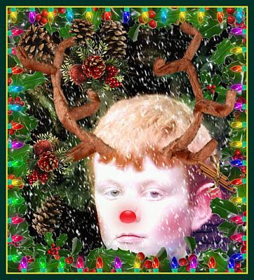 December Faun Poster by Mindy Newman
