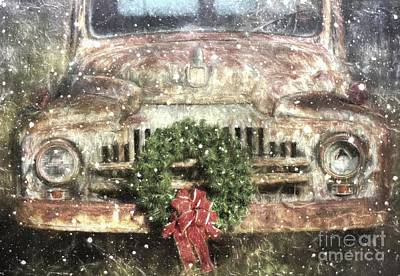 Decked Out For Christmas Poster by Benanne Stiens