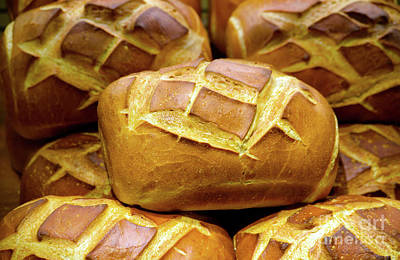 Decorative Bread Of Life Photo A3817 Poster