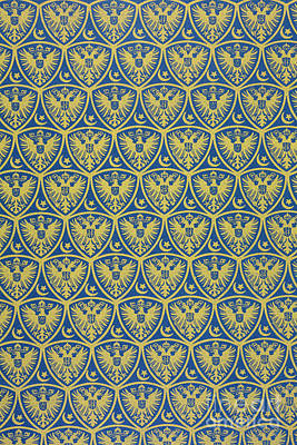 Decorative Pattern With The German Coat Of Arms Poster by German School