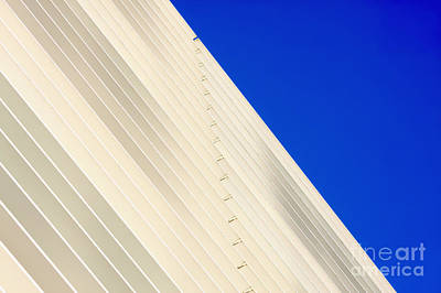 Deep Blue Sky And Office Building Wall Poster