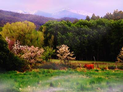 Poster featuring the photograph Deep Breath Of Spring El Valle New Mexico by Anastasia Savage Ealy