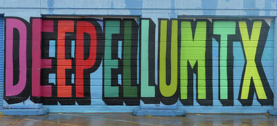 Deep Ellum Wall Art Poster