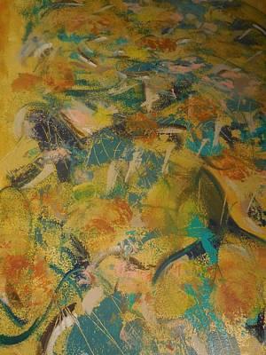 Deep Sea Two Poster by Karen Lillard