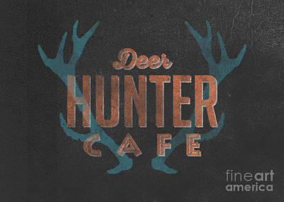 Deer Hunter Cafe Poster